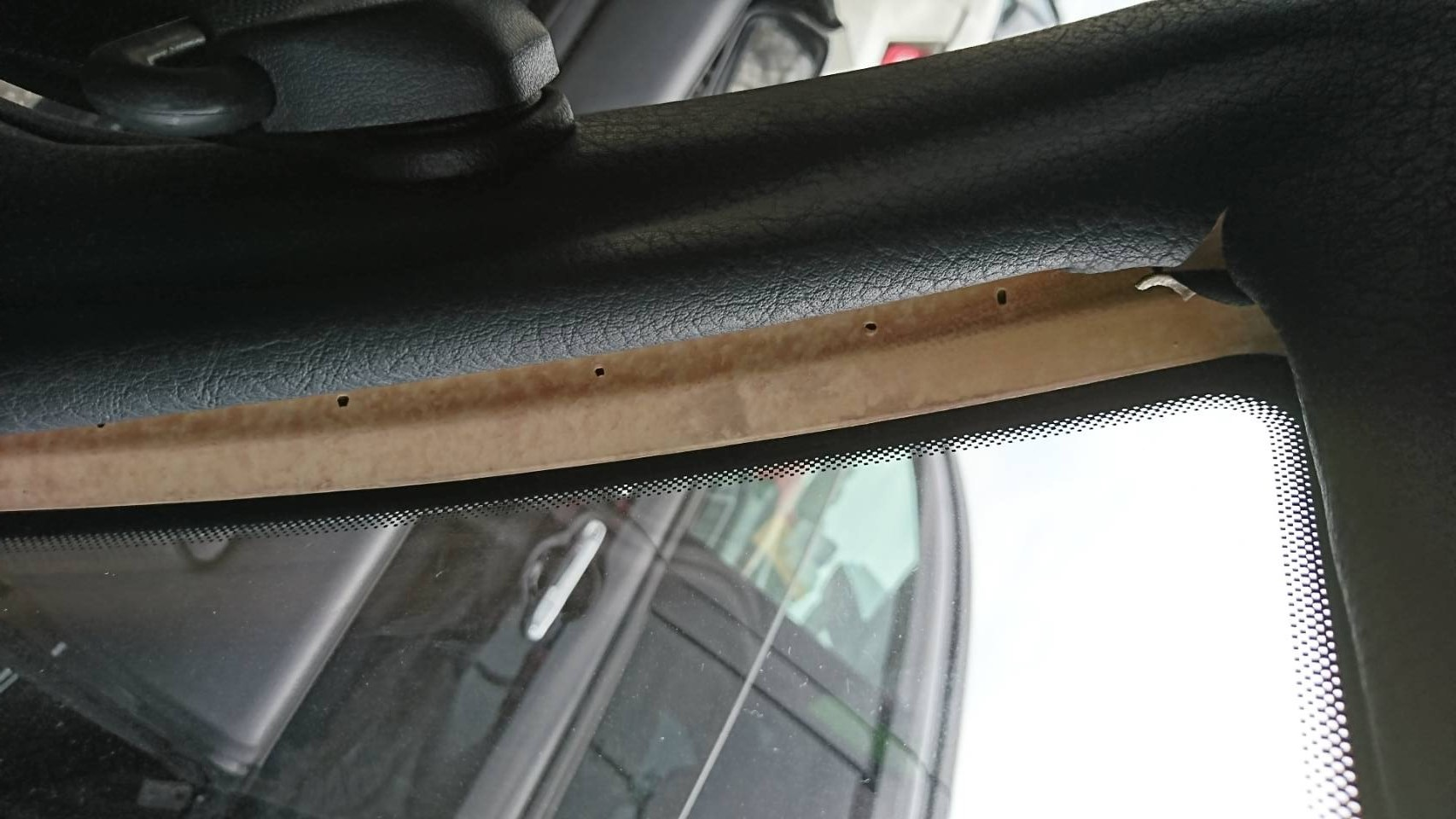 1992 Nissan Skyline R32 GTR door trim damage 2