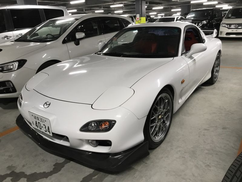2001 Mazda RX-7 Type RB S Package turbo left front