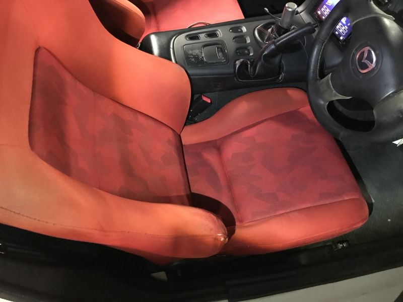 2001 Mazda RX-7 Type RB S Package turbo seat