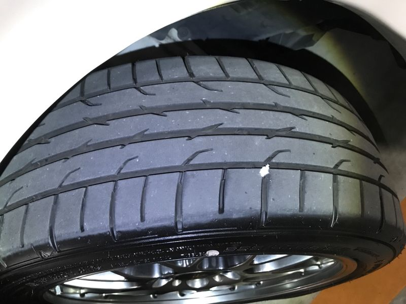 2001 Mazda RX-7 Type RB S Package turbo tyre