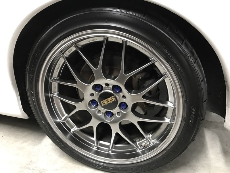 2001 Mazda RX-7 Type RB S Package turbo wheel