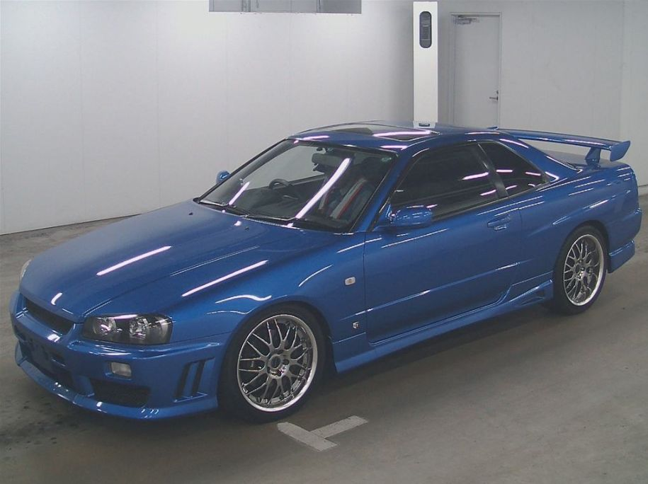 2001 Nissan Skyline R34 GT-T left front
