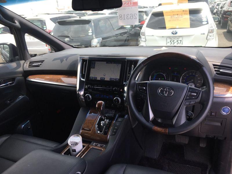 2015 Toyota Vellfire Hybrid Executive Lounge front interior