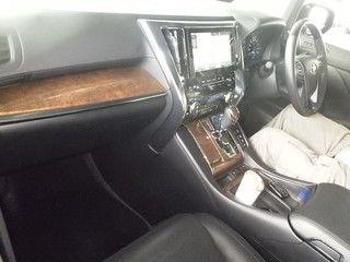 2015 Toyota Vellfire Hybrid Executive Lounge interior