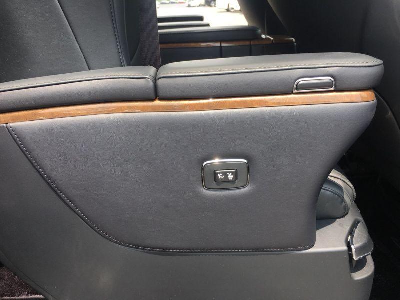 2015 Toyota Vellfire Hybrid Executive Lounge power seat button 2