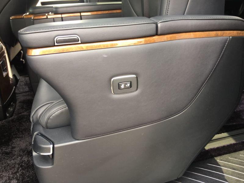 2015 Toyota Vellfire Hybrid Executive Lounge power seat button