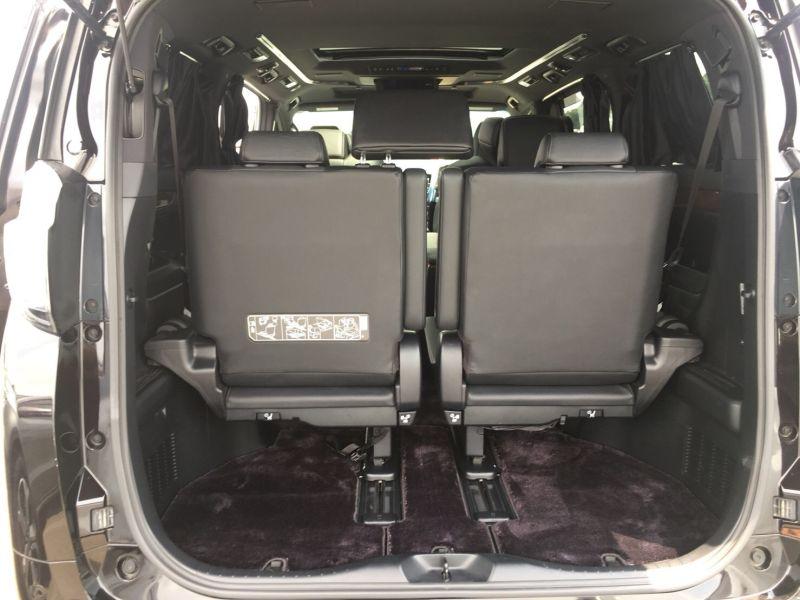 2015 Toyota Vellfire Hybrid Executive Lounge rear hatch