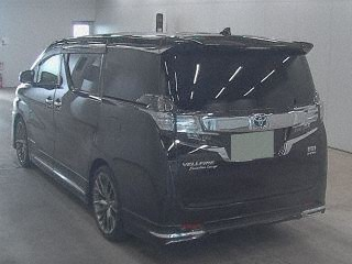 2015 Toyota Vellfire Hybrid Executive Lounge rear