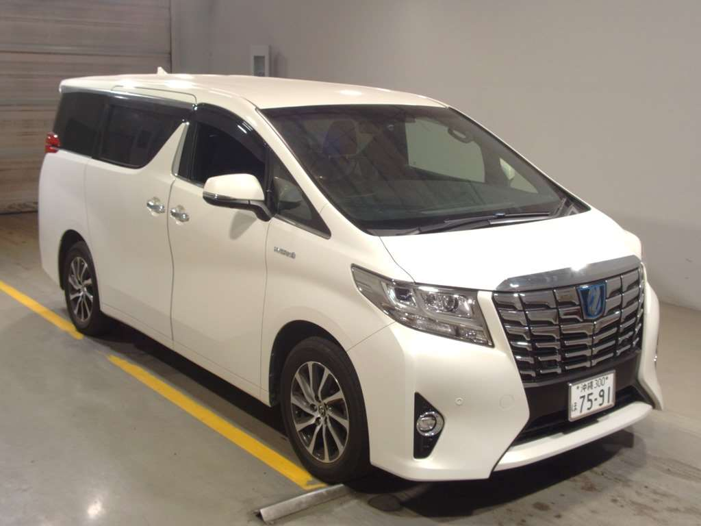 2016 Toyota Alphard Hybrid Executive Lounge auction 1