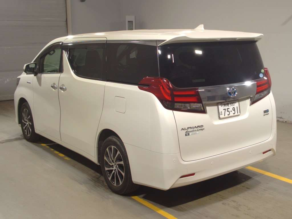 2016 Toyota Alphard Hybrid Executive Lounge auction 2