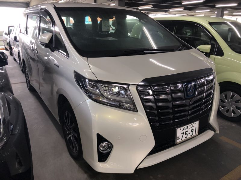 2016 Toyota Alphard Hybrid Executive Lounge right front
