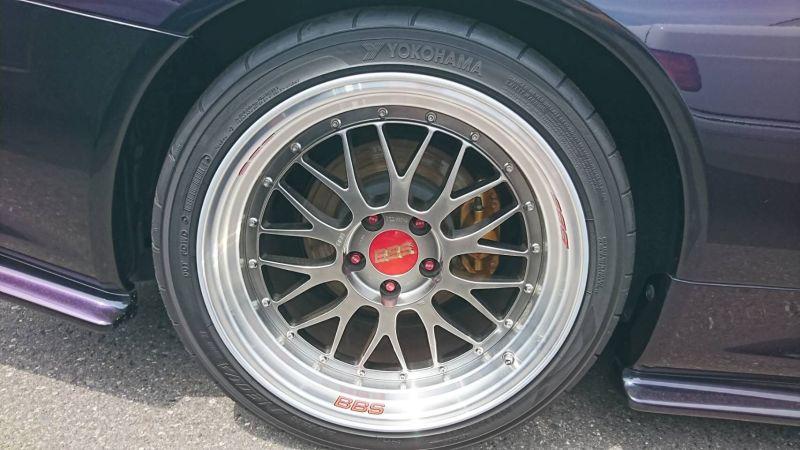 1999 R34 GTR VSpec Midnight Purple II LV4 BBS wheel