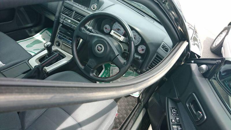 1999 R34 GTR VSpec Midnight Purple II LV4 door trim 2