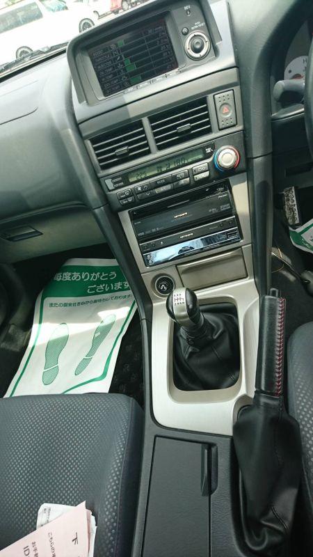 1999 R34 GTR VSpec Midnight Purple II LV4 interior 4