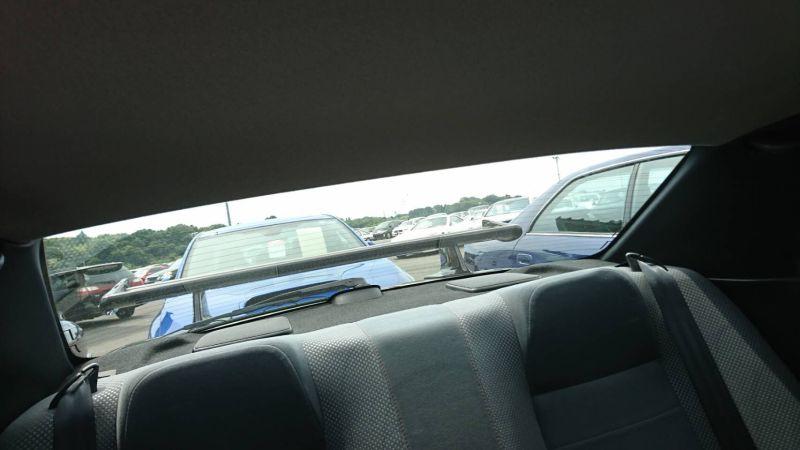 1999 R34 GTR VSpec Midnight Purple II LV4 interior rear window