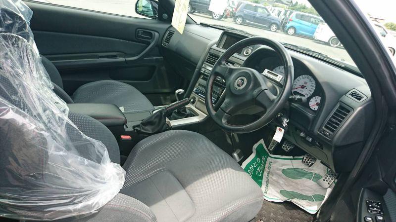 1999 R34 GTR VSpec Midnight Purple II LV4 interior