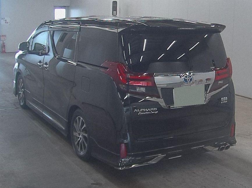 2017 Toyota Alphard Hybrid SR C Package auction left rear