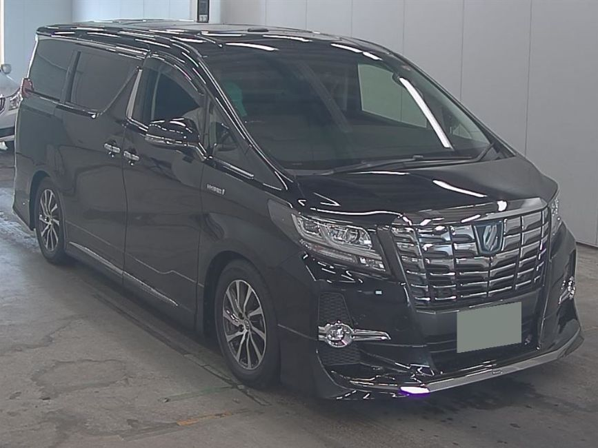 2017 Toyota Alphard Hybrid SR C Package auction right front