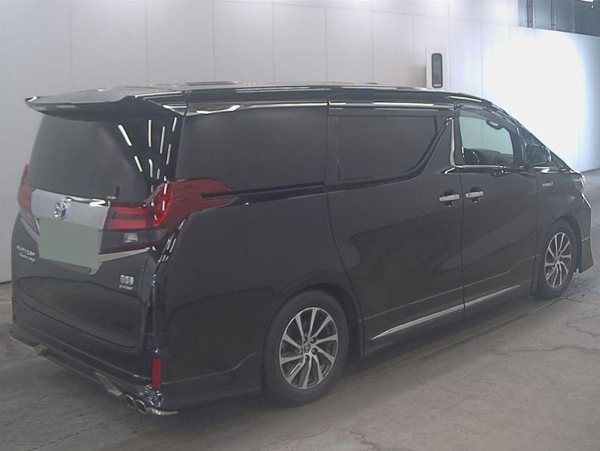 2017 Toyota Alphard Hybrid SR C Package auction right rear