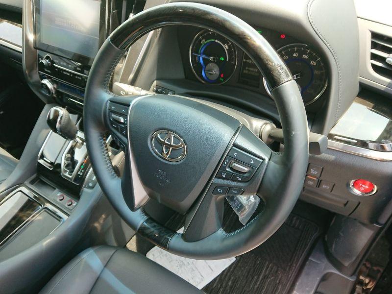 2017 Toyota Alphard Hybrid SR C Package steering wheel