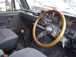 1988 Mitsubishi Pajero interior
