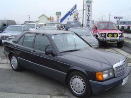1989 Mercedes Benz 190E LTD front