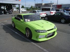 Nissan Silvia modified