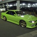Nissan Silvia modified night front