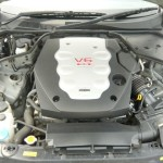 V35 coupe engine