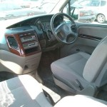 2001 Nissan Elgrand interior rear seat front seat
