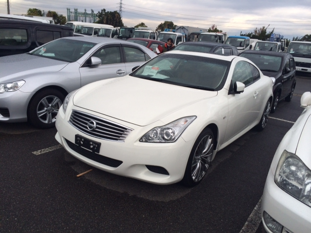 2011 Nissan Skyline V36 coupe 370GT Type SP front