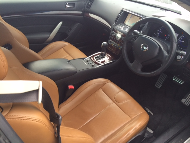 2011 Nissan Skyline V36 coupe 370GT Type SP interior
