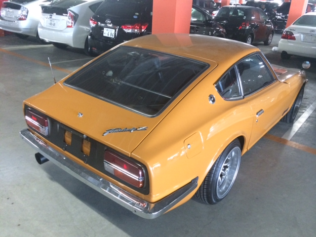 1977 Nissan Fairlady Z S31 coupe rear