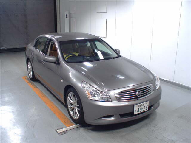 2007 Nissan Skyline V36 sedan 350GT Type SP front