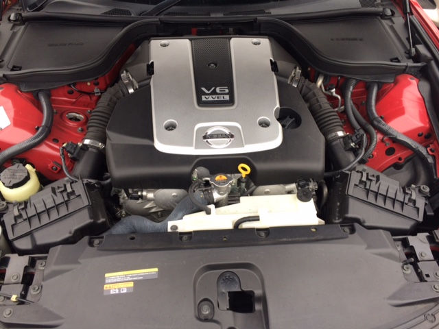 2010 Nissan Skyline V36 coupe engine