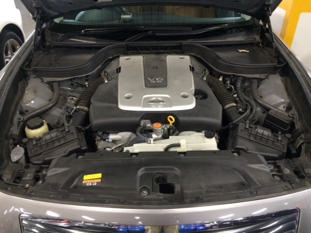 2007 Nissan Skyline V36 sedan 350GT Type SP engine