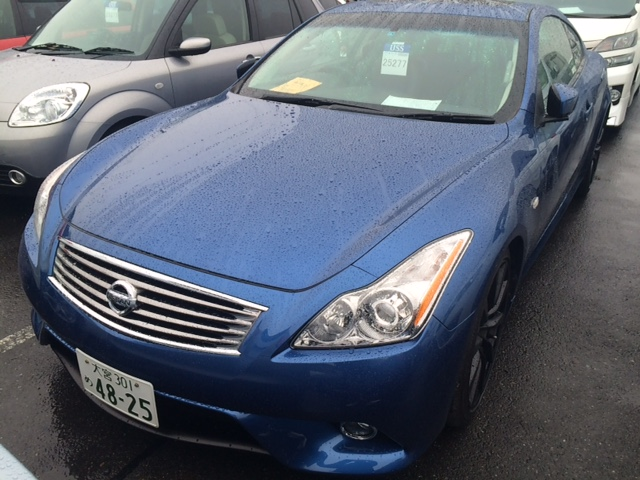 2008 Nissan Skyline V36 coupe 370GT Type SP front