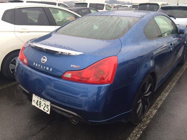 2008 Nissan Skyline V36 coupe 370GT Type SP rear