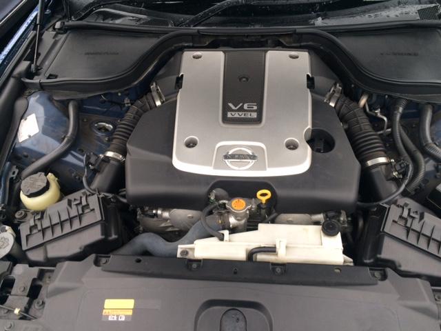 2008 Nissan Skyline V36 coupe 370GT Type SP engine