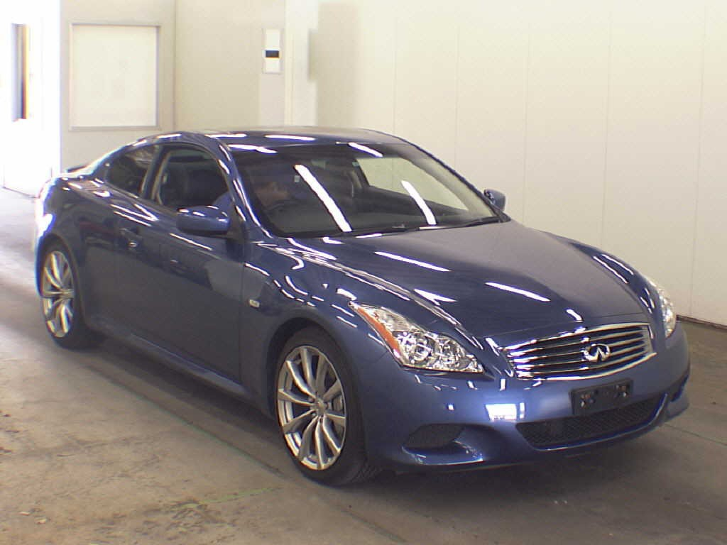 Example Auction Inspection -- 2008 Nissan Skyline V36 coupe Type SP Blue Auto 39000 kms 9 May 2013
