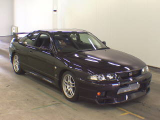 1997 R33 GTR midnight purple