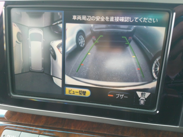 2008 Nissan Elgrand E51 around view monitor