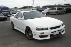 R34 GT-T 2.5L turbo coupe