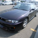1997 R33 GTR midnight purple front