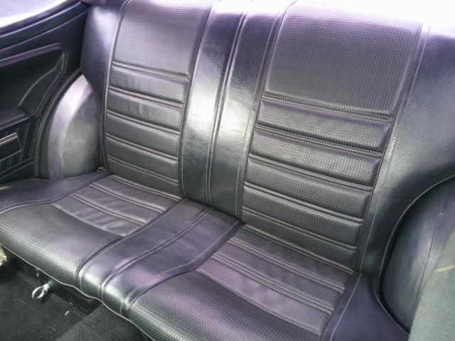 Sprinter Trueno TE27 coupe back seat