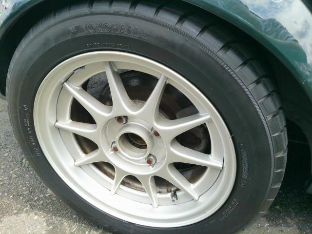 Sprinter Trueno TE27 coupe wheel