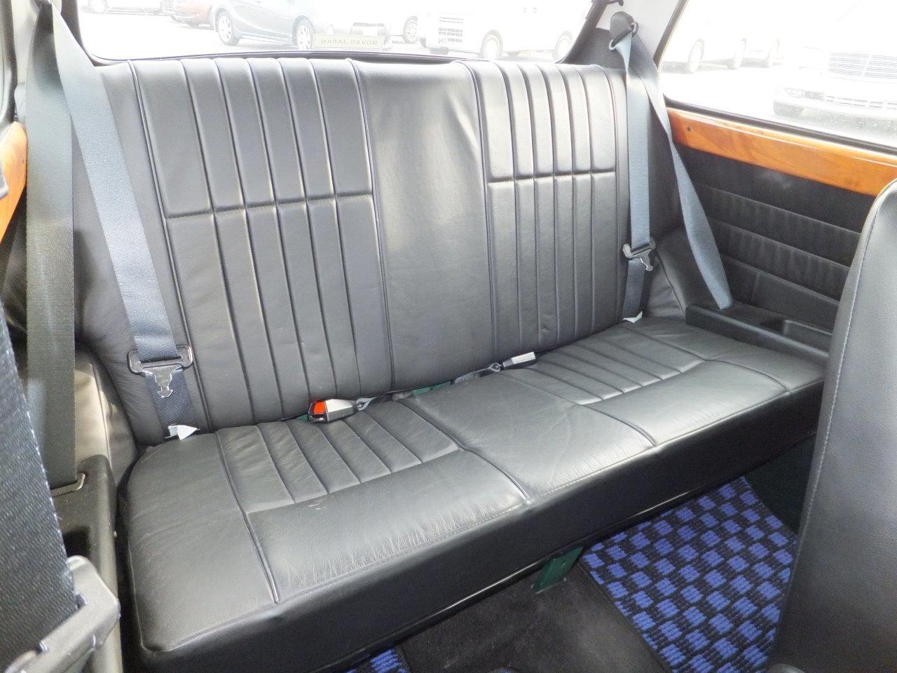Rover Mini Cooper BSCC back seat