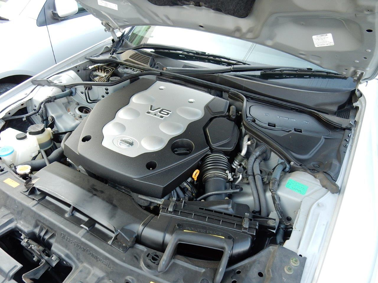 2004 Nissan Stagea AR-X engine