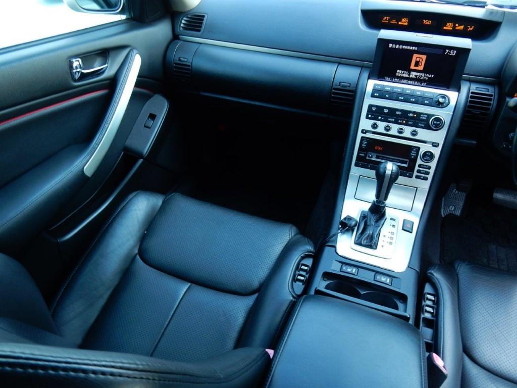 2004 Nissan Stagea AR-X passenger seat