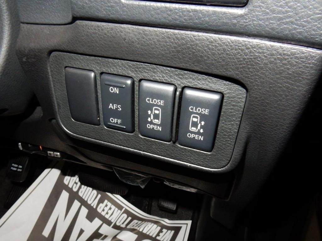 2009 Nissan Elgrand NE51 powerslide door controls